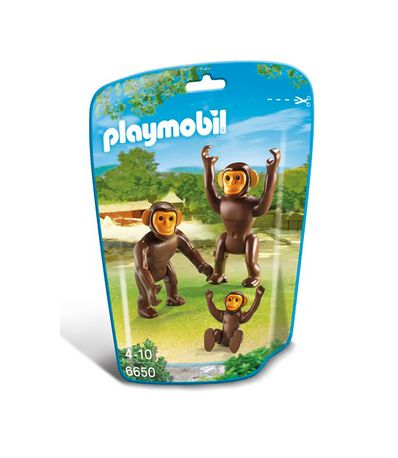 Chimpanzes-Playmobil