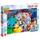 Historia-de-Toy-4-Puzzle-Bunny--amp--Ducky-104-Pecas