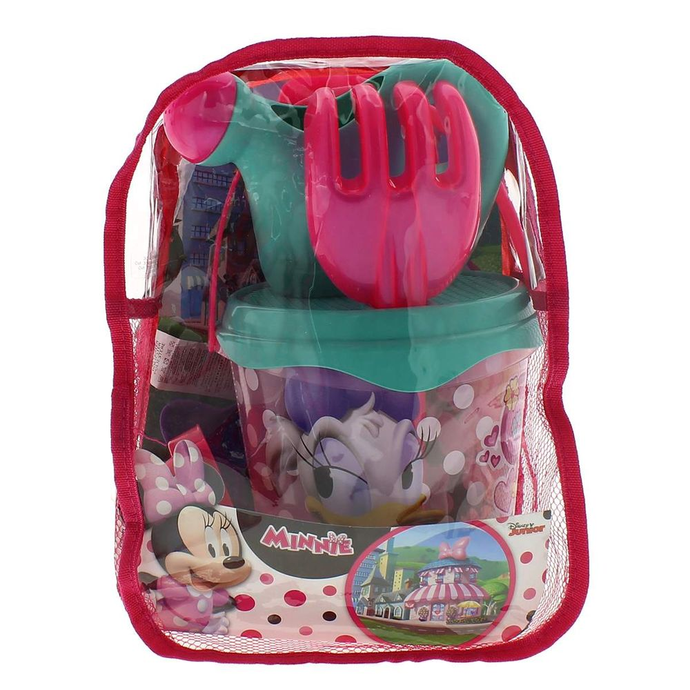 Kit Escolar Infantil Minnie 19M Plus Mochila Lancheira