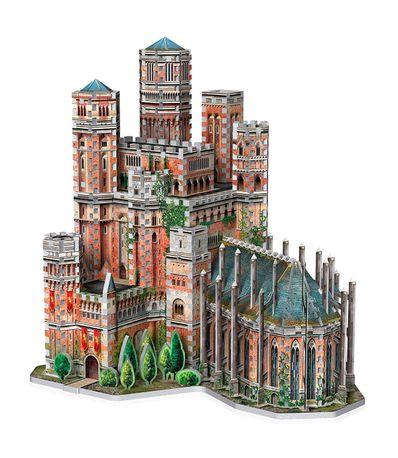 Jogo-de-Puzzle-3D-Puzzle-Red-Fortress