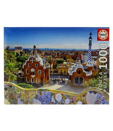 Puzzle-View-of-Barcelona-1000-Pieces