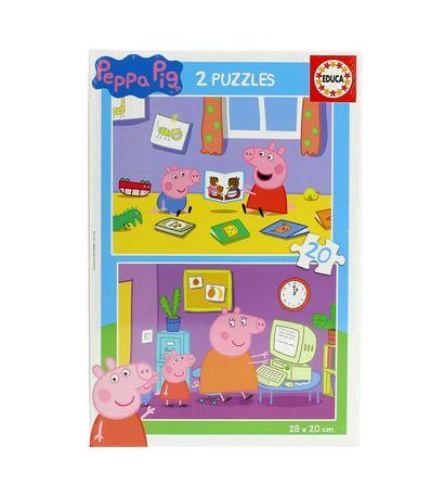 Peppa-Pig-Puzzle-2x20-Piezas