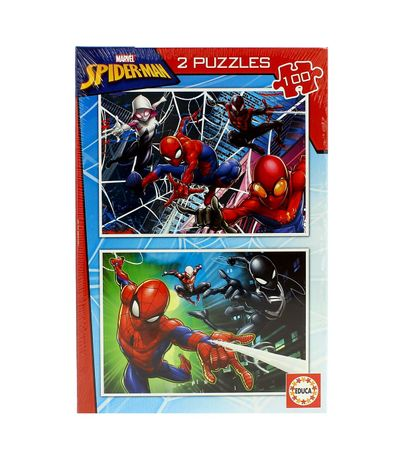 Spiderman-Puzzle-2x100-pecas