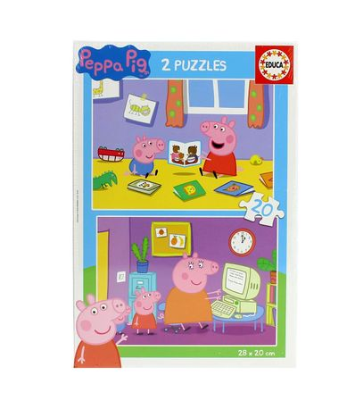 Peppa-Pig-Puzzle-2x20-Pieces