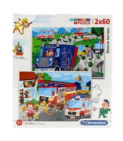 Puzzle-Vehiculos-de-Emergencia-2x60-Piezas