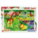 Puzzle-Animales-de-la-Sabana-3x48-Piezas