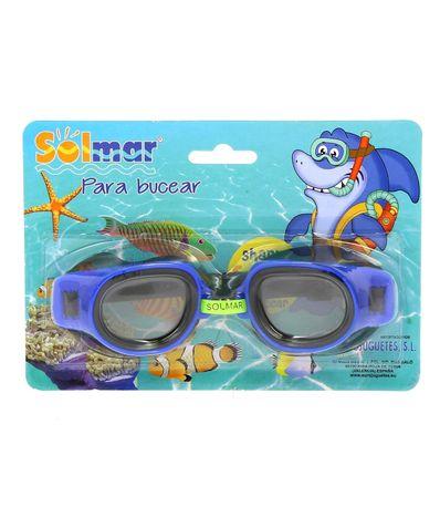 Lunettes-de-natation-junior-bleu