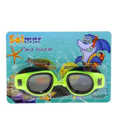 Oculos-de-Natacao-Verde-Junior