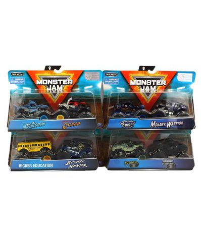 Monster-Jam-Pack-Doble-Vehiculos-1-64-Surtidos