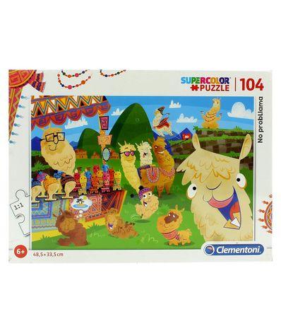 Puzzle-Llama-104-Piezas
