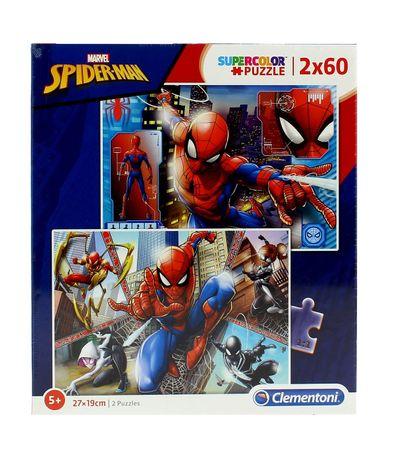 Quebra-cabeca-do-Homem-Aranha-2x60-Pecas