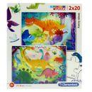 Puzzle-de-dinosaures-2x20-pieces