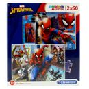 Spiderman-Puzzle-2x60-Pieces