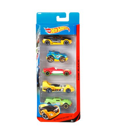Hot-Wheels-Pack-5-Vehicules