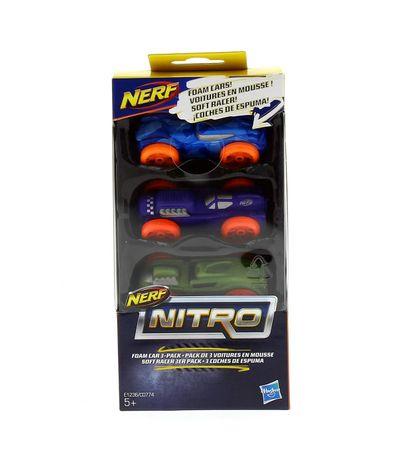 Nerf-espuma-Nitro-3-carros