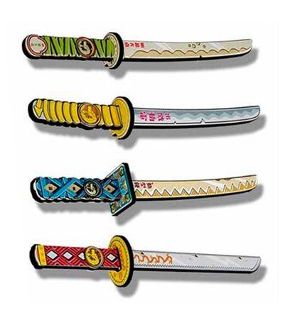 SoftWarriors-Espadas-Ninja-Surtidas