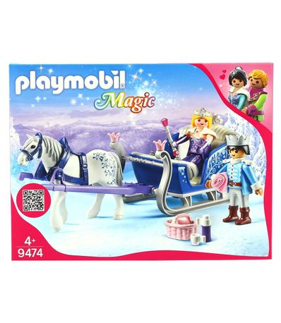 Playmobil-Magic-Trineo-con-Pareja-Real