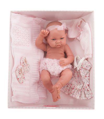 Boneca-Recem-nascida-Nica-Ajuar