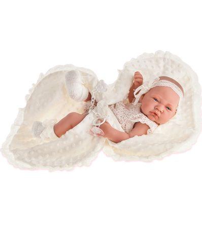 Boneca-Bebe-Recem-nascido-Cobertor-Bege