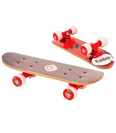 Funbee-Mini-Skate-Vermelho-17--quot-