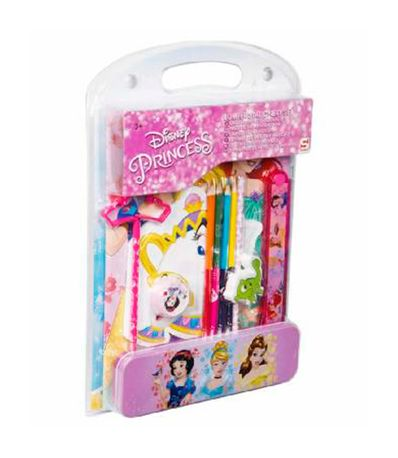 Princesas-da-Disney-Papelaria-Set