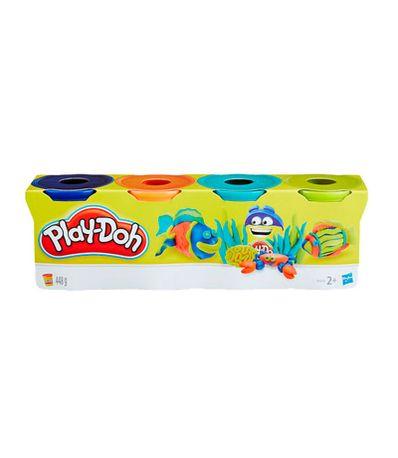 Play-Doh-Pack-4-Pots-de-Plasticine