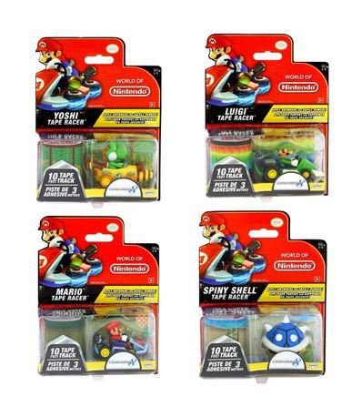 Mario-Kart-Mini-voitures-assorties