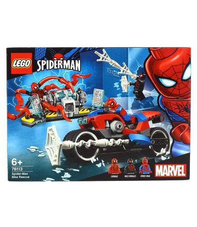Resgate-de-motocicleta-Lego-Super-Heroes-Spider-Man