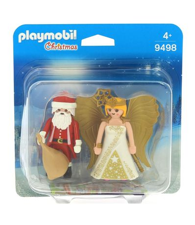 Playmobil-Christmas-Papa-Noel-y-Angel
