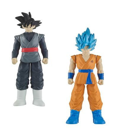 Pacote-de-Combate-Dragon-Ball-Goku-Black-e-SS-Goku-Blue