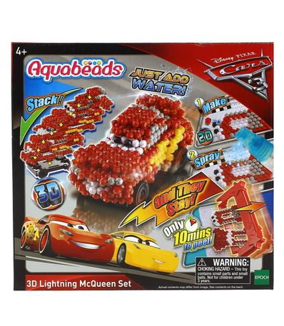 Voitures-Aquabeads-Lightning-McQueen-3D