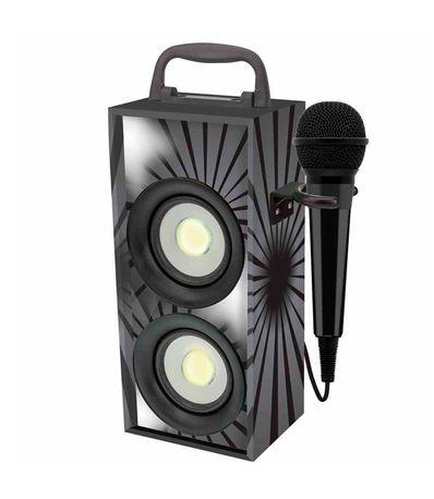 Alto-falante-portatil-Bluetooth-com-micro-preto