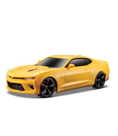 Carro-Chevrolet-Camaro-SS-na-escala-1-24