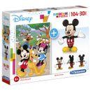 Mickey-Mouse-Puzzle-104-pecas-com-modelo-3D