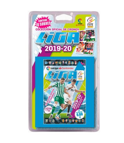 Liga-2019-2020-Blister-10-Sobres-Sorpresa