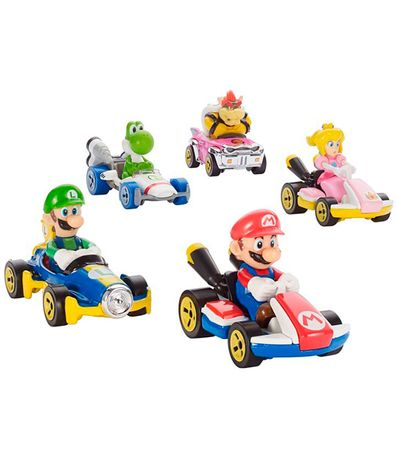 Hot-Wheels-Vehiculo-Mario-Kart-Surtido