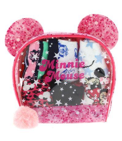 Pack-de-6-pares-de-meias-Minnie-5-6-anos