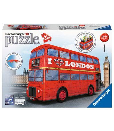 Puzzle-3D-Autobus-Londres