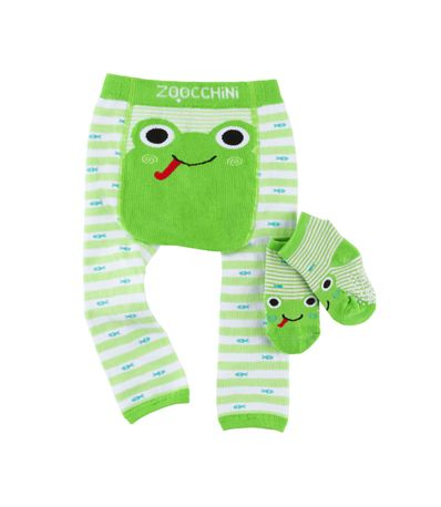 Leggin---Meias-Gateo-Frog-6-12-meses