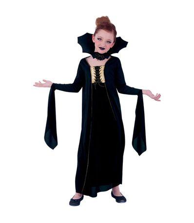 Costume-De-Vampire-Gothique-Noir-Costume-5-7-Ans