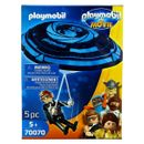 Playmobil-Movie-Rex-Dasher-con-Paracaidas
