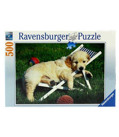Puzzle-Cachorros-Golden-Retriver-500-Piezas
