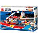Barco-de-bombeiros-de-blocos-de-construcao-de-Sluban