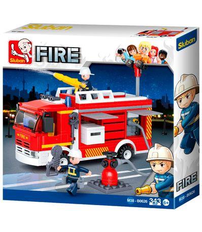 Caminhao-de-bombeiros-de-blocos-de-construcao-de-Sluban