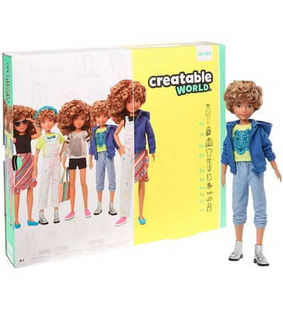 Creatable-World-Kit-Figura-Peluca-con-Rizos