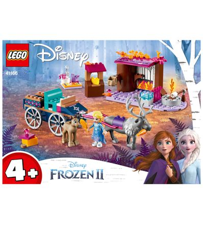 Aventura-Lego-Frozen-2-em-Carreta-de-Elsa