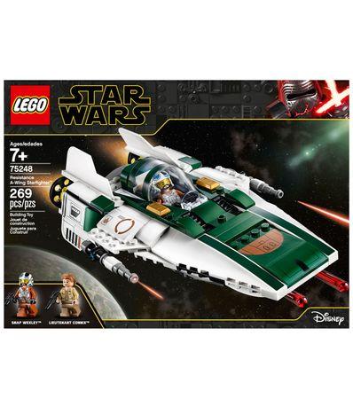 Lego-Star-Wars-Caza-Estelar-Ala-A-de-Resistencia