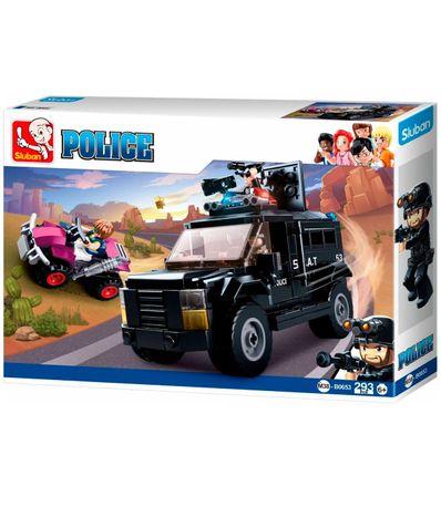 Sluban-Bloques-de-Construccion-Policia-SWAT