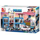 Sluban-Building-Blocks-Command-Police