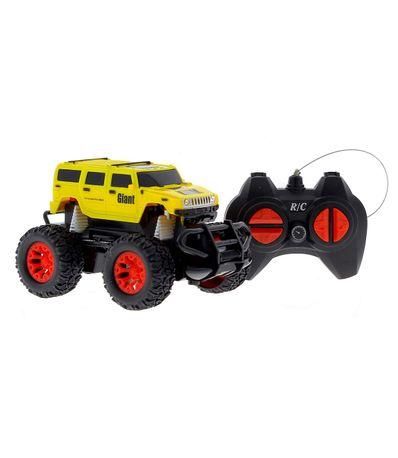 Coche-Hummer-4x4-Todo-terreno